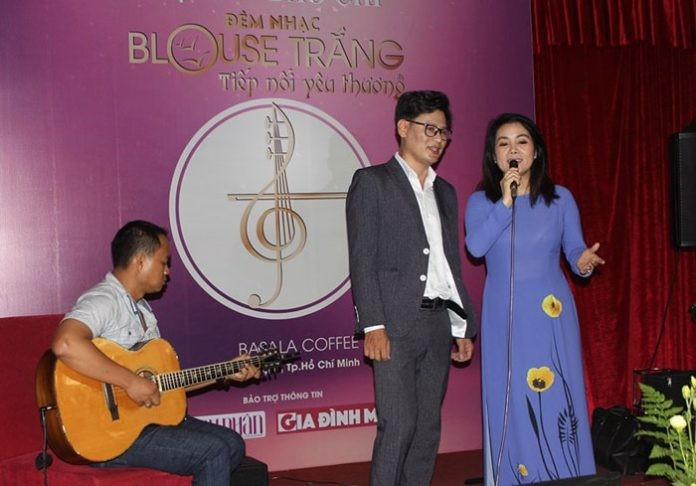 Đêm nhạc Blouse Trắng vận động được hơn 320 triệu đồng ủng hộ bệnh nhân nghèo - ảnh 1