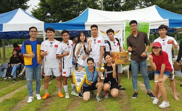 Sôi nổi Hội thao khu vực Gyeongbuk-Daegu lần thứ II năm 2018 - ảnh 1