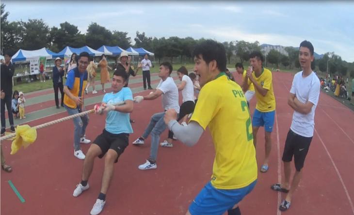 Sôi nổi Hội thao khu vực Gyeongbuk-Daegu lần thứ II năm 2018 - ảnh 4