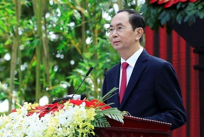 Lãnh đạo các quốc gia gửi điện chia buồn về việc Chủ tịch nước Trần Đại Quang từ trần - ảnh 1