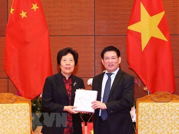 Đẩy mạnh trao đổi kinh nghiệm giữa Kiểm toán Nhà nước Việt Nam và Kiểm toán Trung Quốc - ảnh 1