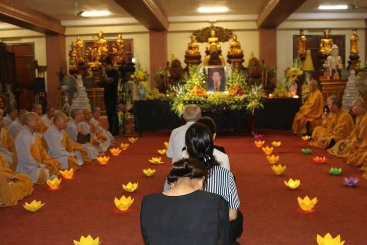 Chư tăng, phật tử Lào – Việt tại Lào cầu siêu, tưởng niệm Chủ tịch nước Trần Đại Quang - ảnh 2