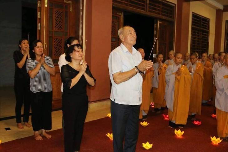 Chư tăng, phật tử Lào – Việt tại Lào cầu siêu, tưởng niệm Chủ tịch nước Trần Đại Quang - ảnh 5