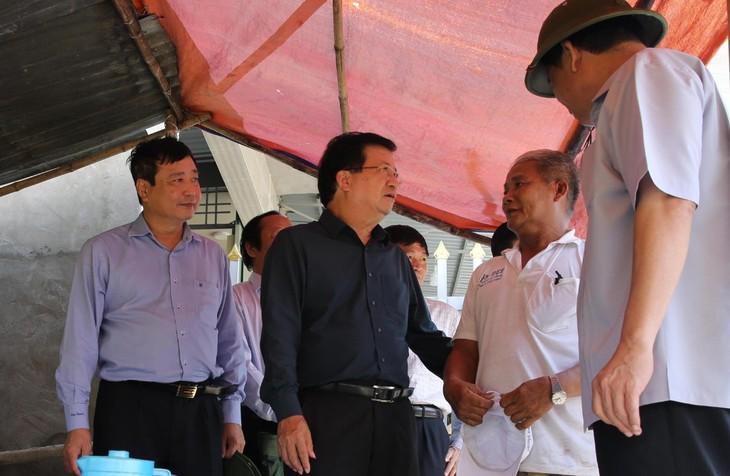 Phó thủ tướng Trịnh Đình Dũng: Khu vực Đồng bằng Sông Cửu Long chuẩn bị các phương án ứng phó với lũ - ảnh 1