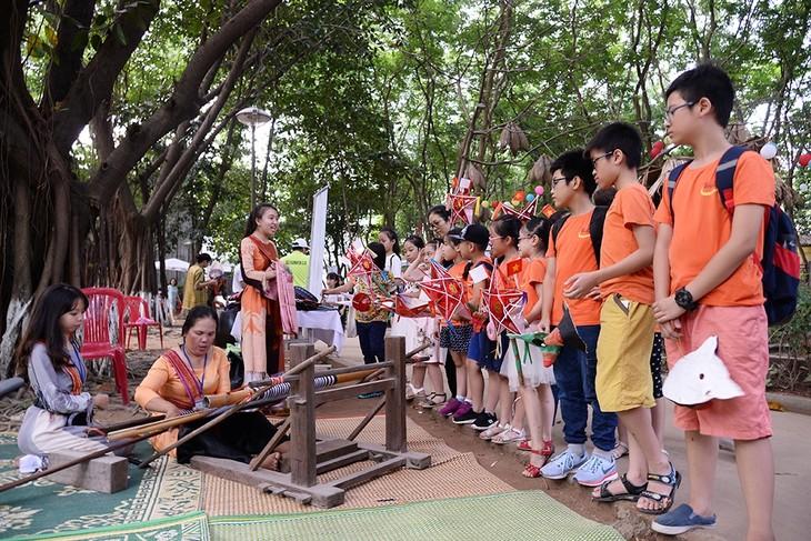 Sắc màu văn hóa Ninh Thuận là điểm nhấn Tết Trung Thu ở Bảo tàng dân tộc học (Hà Nội) - ảnh 2