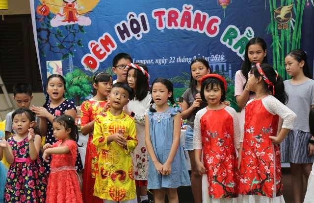 Trẻ em Việt Nam tại Malaysia vui Tết Trung thu - ảnh 1