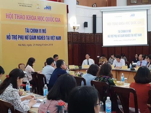 Tài chính vi mô hỗ trợ phụ nữ giảm nghèo tại Việt Nam - ảnh 1