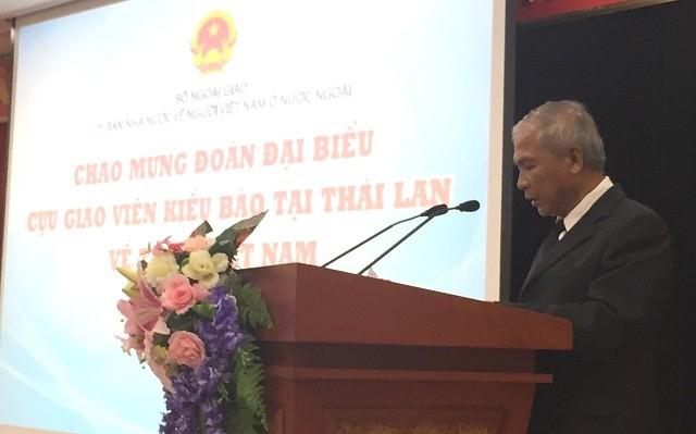 Gặp mặt các cựu giáo viên kiều bào Thái Lan về thăm Việt Nam - ảnh 2