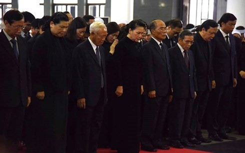 Lễ viếng  trọng thể Chủ tịch nước Trần Đại Quang - ảnh 6