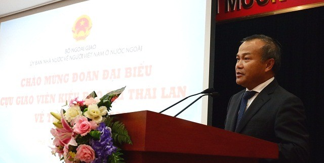 Gặp mặt các cựu giáo viên kiều bào Thái Lan về thăm Việt Nam - ảnh 1