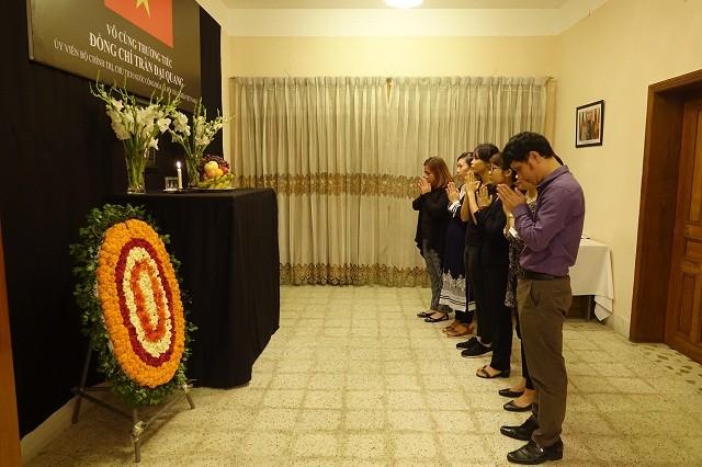 Đại sứ quán Việt Nam tại Bangladesh tổ chức Lễ viếng và mở Sổ tang Chủ tịch nước Trần Đại Quang - ảnh 5
