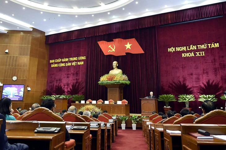 Hội nghị Trung ương 8 khóa XII hoàn thành toàn bộ chương trình đề ra - ảnh 1
