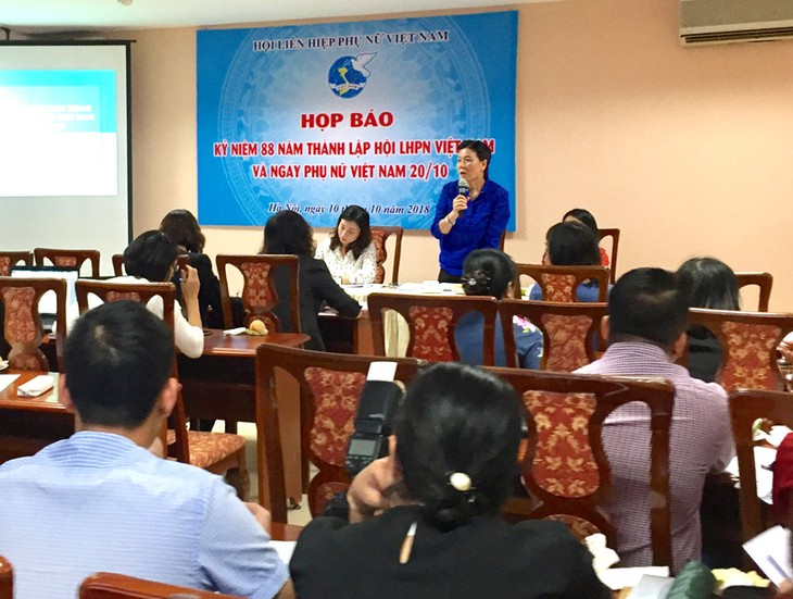 Nhiều hoạt động kỷ niệm 88 năm ngày thành lập Hội Liên hiệp phụ nữ Việt Nam - ảnh 1