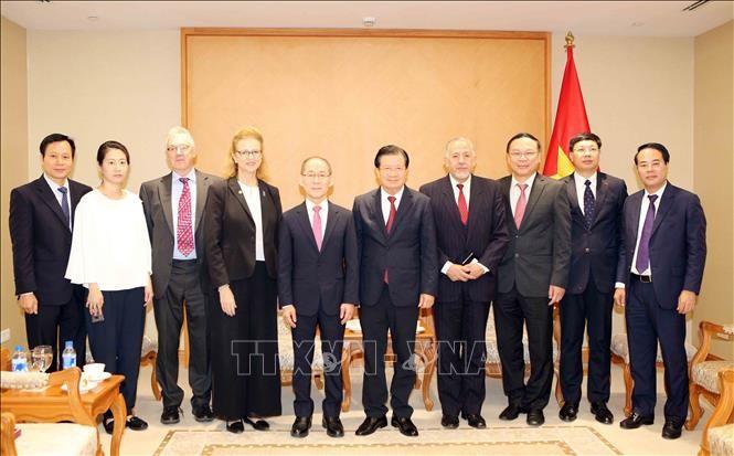 Phó Thủ tướng Trịnh Đình Dũng: Chia sẻ trách nhiệm, cùng cộng đồng quốc tế ứng phó với biến đổi khí hậu - ảnh 1