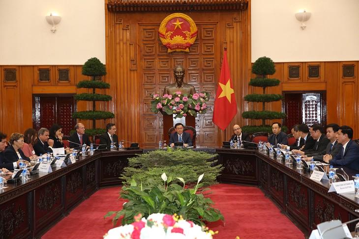 Phó Thủ tướng Vương Đình Huệ tiếp đoàn doanh nghiệp Pháp - ảnh 1