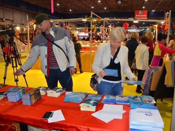 Tưng bừng không gian Việt Nam tại Hội chợ quốc tế Grenoble 2018 ở Pháp  - ảnh 1