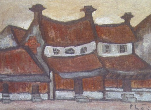 Triển lãm tranh các họa sĩ Nghiêm- Phái tại tuần lễ nghệ thuật châu Á ở London - ảnh 1