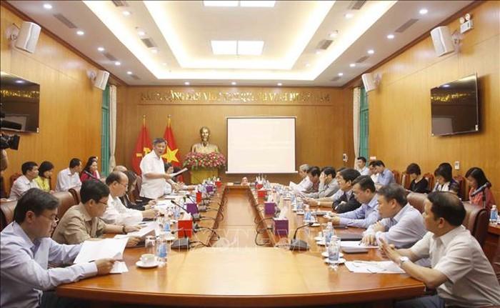 Hội nghị tổng kết công tác đối ngoại năm 2018 của các cơ quan Đảng ở Trung ương - ảnh 1