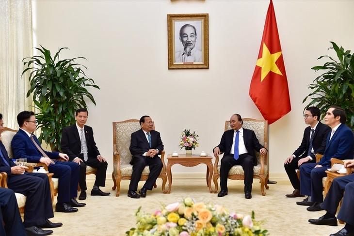Thủ tướng Nguyễn Xuân Phúc tiếp Bộ trưởng Bộ Kế hoạch Campuchia - ảnh 1