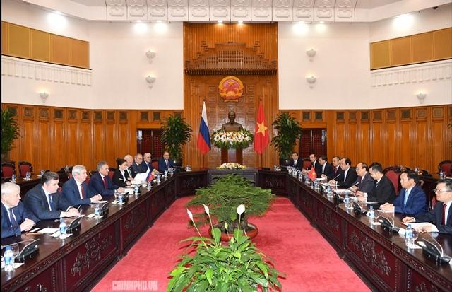 Hội đàm cấp cao Việt Nam và Liên bang Nga - ảnh 1
