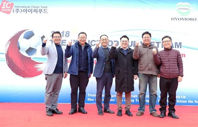 ICFOOD Cup - kết nối các thế hệ sinh viên Việt Nam tại Hàn Quốc - ảnh 2