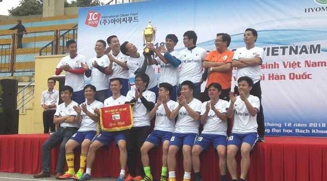 ICFOOD Cup - kết nối các thế hệ sinh viên Việt Nam tại Hàn Quốc - ảnh 1