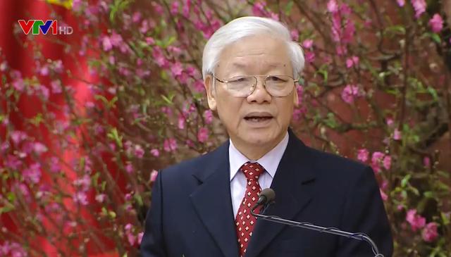 Tổng Bí thư, Chủ tịch nước Nguyễn Phú Trọng chúc Tết lãnh đạo Đảng, Nhà nước, đồng bào, chiến sỹ cả nước - ảnh 1