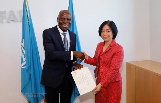 IFAD đánh giá cao sự hợp tác của Chính phủ Việt Nam - ảnh 1