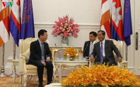 Việt Nam và Campuchia tăng cường hợp tác trong lĩnh vực báo chí viễn thông - ảnh 1