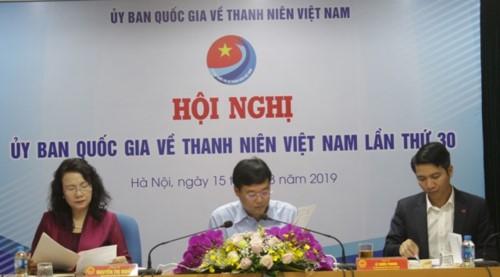 Hội nghị Ủy ban Quốc gia về thanh niên Việt Nam lần thứ 30 - ảnh 1