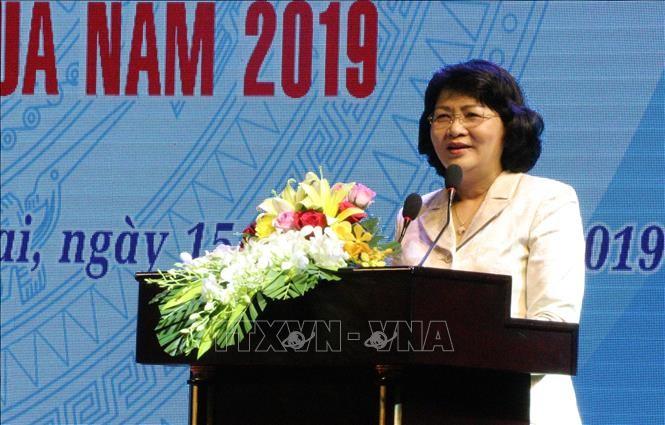 Phó Chủ tịch nước Đặng Thị Ngọc Thịnh: Thi đua tạo động lực phát triển kinh tế - xã hội - ảnh 1