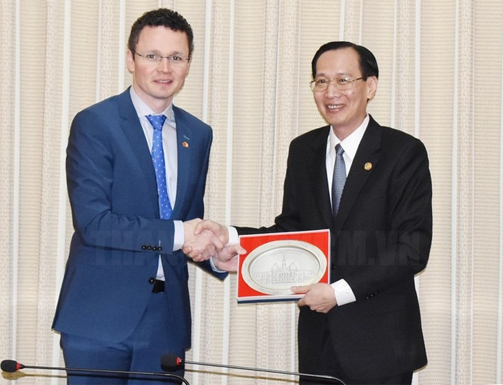 Thành phố Hồ Chí Minh và Ireland tăng cường hợp tác giáo dục, y tế - ảnh 1