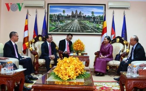 Đoàn đại biểu Ban Tôn giáo Chính phủ hội kiến Phó Thủ tướng Campuchia - ảnh 1