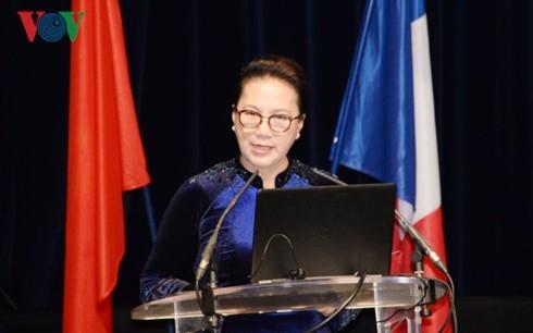 Chủ tịch Quốc hội Nguyễn Thị Kim Ngân chủ trì Lễ bế mạc Hội nghị hợp tác giữa các địa phương Việt Nam-Pháp lần thứ 11 - ảnh 2