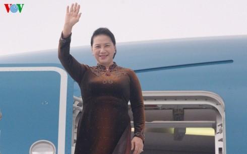 Chủ tịch Quốc hội Nguyễn Thị Kim Ngân kết thúc tốt đẹp chuyến công tác nước ngoài - ảnh 1