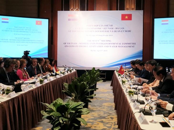 Phó Thủ tướng Trịnh Đình Dũng: Thích ứng biến đổi khí hậu là trụ cột quan hệ Việt Nam - Hà Lan - ảnh 1