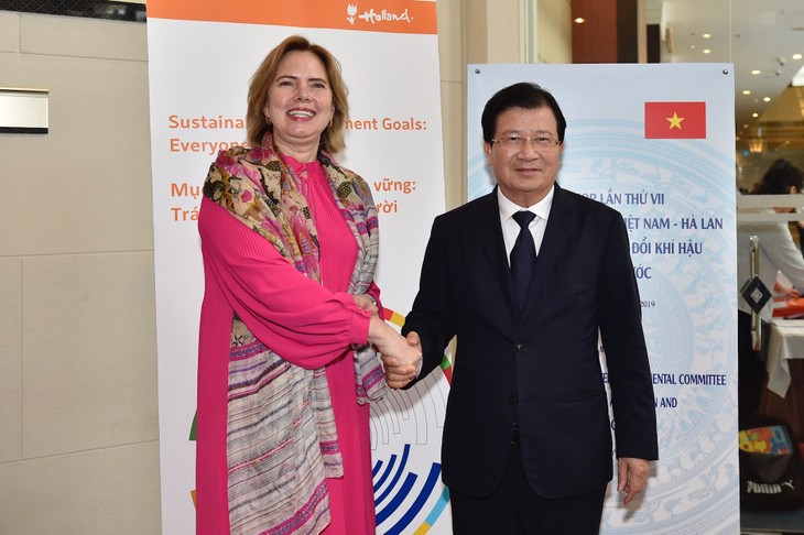 Thúc đẩy hợp tác Việt Nam - Hà Lan trong ứng phó biến đổi khí hậu - ảnh 1