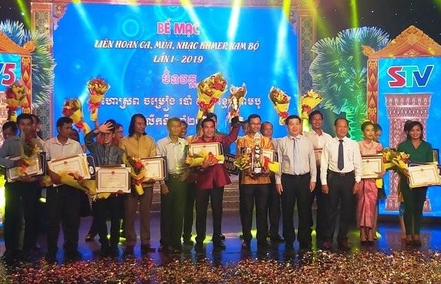 Bế mạc Liên hoan ca múa nhạc Khmer Nam Bộ lần thứ nhất 2019 - ảnh 1