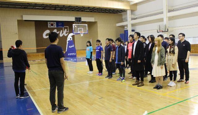 Sinh viên các trường đại học ở Hàn Quốc sôi nổi tham gia giải cầu lông Chung-Ang mở rộng 2019 - ảnh 2