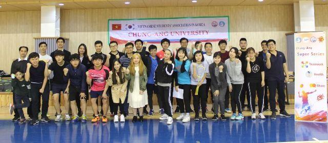 Sinh viên các trường đại học ở Hàn Quốc sôi nổi tham gia giải cầu lông Chung-Ang mở rộng 2019 - ảnh 3