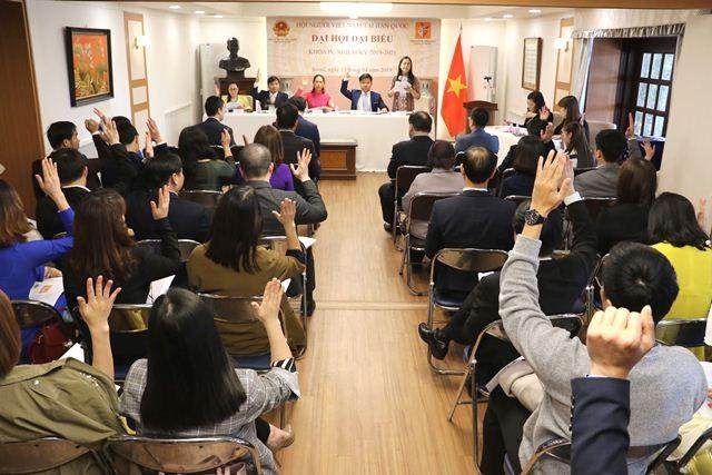 Đại hội đại biểu Hội người Việt Nam tại Hàn Quốc nhiệm kỳ IV (2019-2021) - ảnh 4