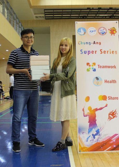 Sinh viên các trường đại học ở Hàn Quốc sôi nổi tham gia giải cầu lông Chung-Ang mở rộng 2019 - ảnh 4