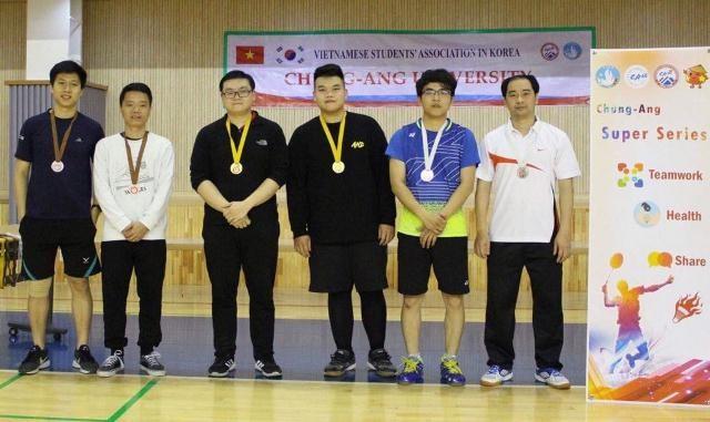 Sinh viên các trường đại học ở Hàn Quốc sôi nổi tham gia giải cầu lông Chung-Ang mở rộng 2019 - ảnh 6