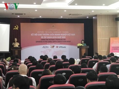 AEON nhập khẩu trực tiếp hàng hóa từ doanh nghiệp Việt Nam - ảnh 1