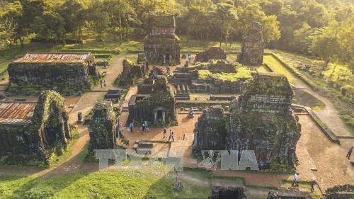 Trùng tu hoàn thiện nhóm tháp K quần thể Di sản Văn hóa thế giới Mỹ Sơn (tỉnh Quảng Nam) - ảnh 1