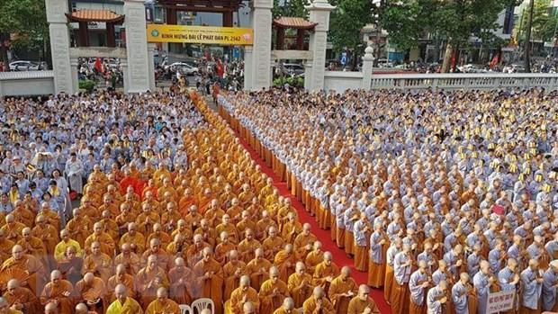 Ủy ban Trung ương MTTQ Việt Nam chúc mừng Đại lễ Phật đản lần thứ 16 - ảnh 1
