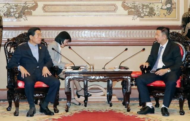 Kết nối hợp tác giữa Thành phố Hồ Chí Minh và thành phố Ansan (Hàn Quốc) - ảnh 1