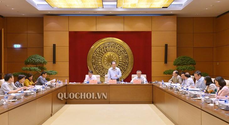 Ủy ban Pháp luật của Quốc hội khai mạc phiên họp toàn thể lần thứ 18 - ảnh 1
