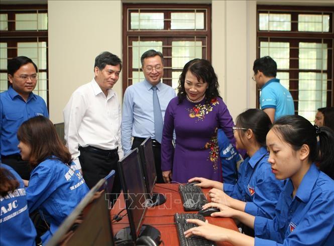 Đẩy mạnh học tập theo Chủ tịch Hồ Chí Minh trong thanh, thiếu niên, học sinh, sinh viên trong và ngoài nước - ảnh 2