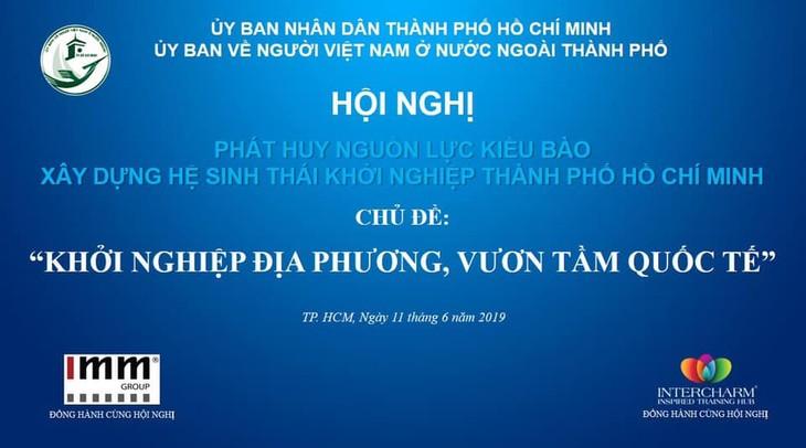Hội nghị phát huy nguồn lực kiều bào xây dựng hệ sinh thái khởi nghiệp Thành phố Hồ Chí Minh - ảnh 1